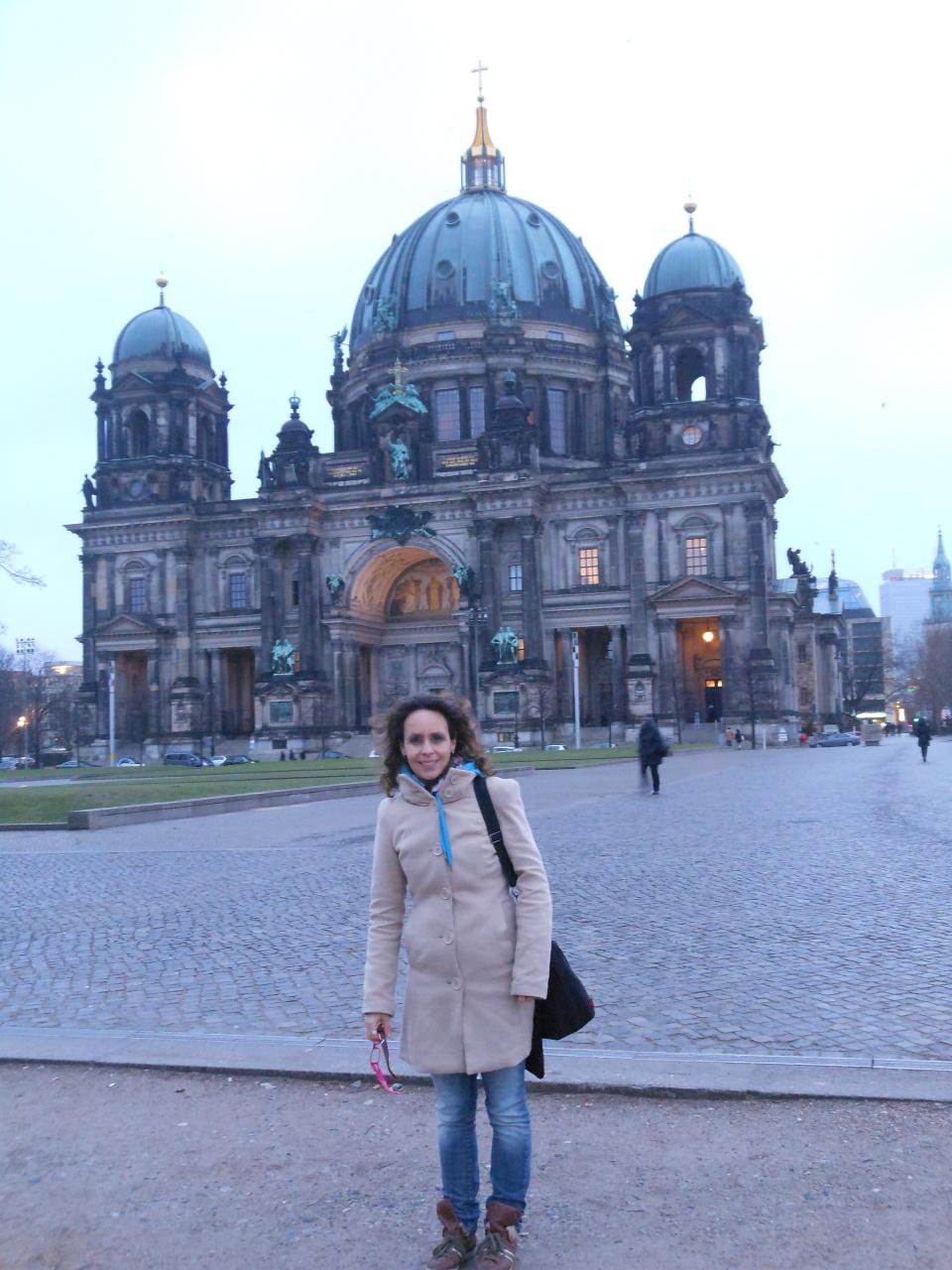 Bij Berlijnse Dom, jan 2013