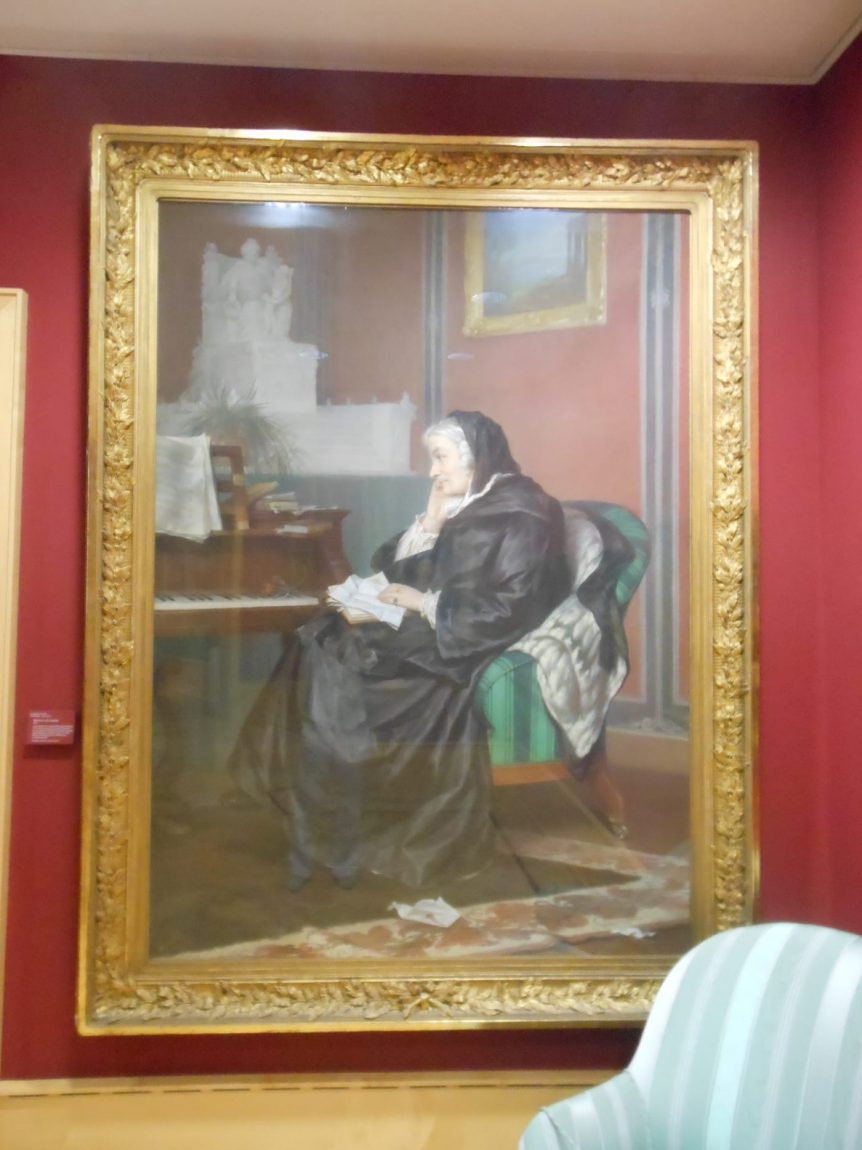 Bettina von Arnim, Goethemuseum Frankfurt