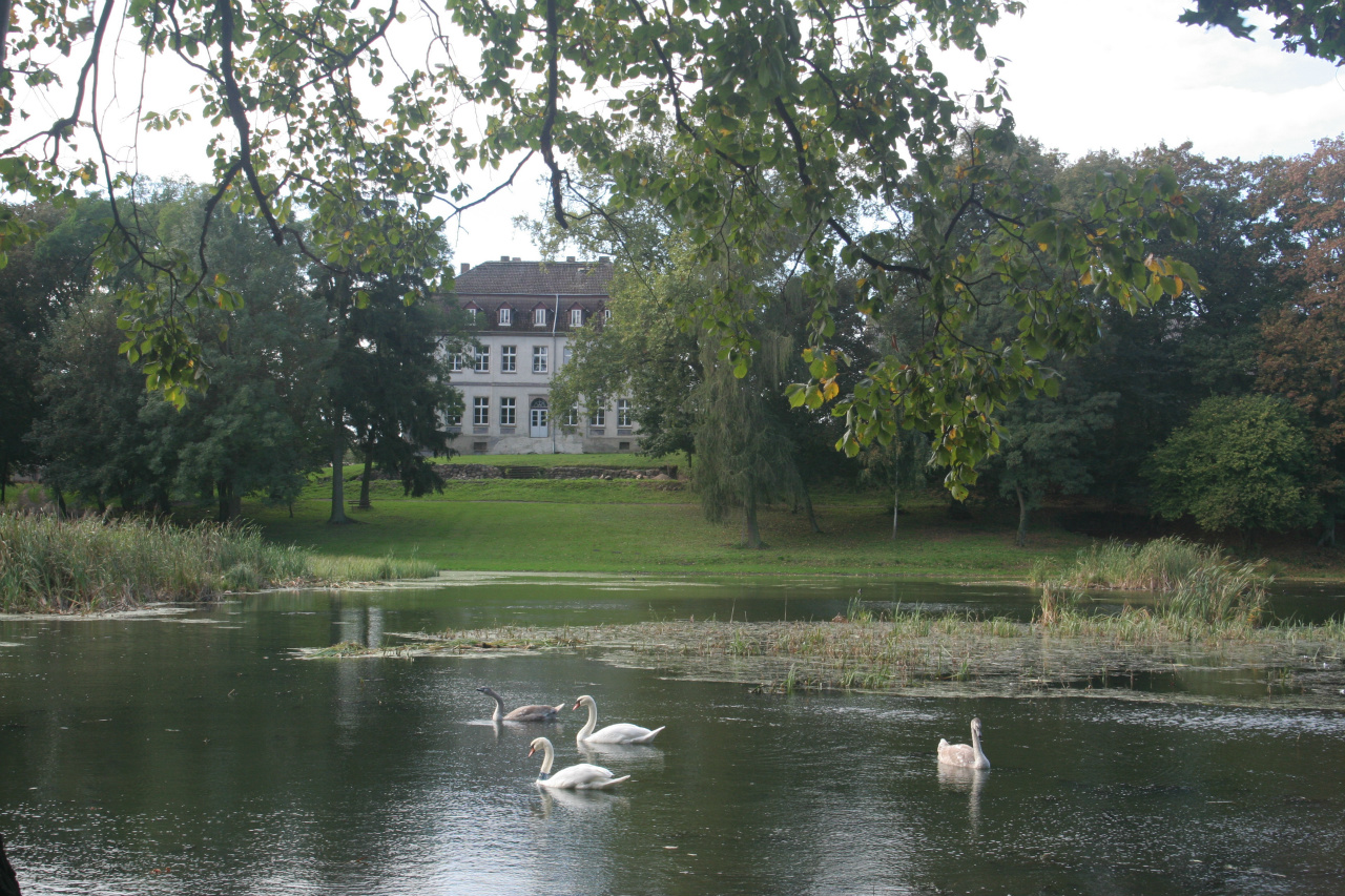 Haus Gross Fredenwalde, bij begrafenis Elfi