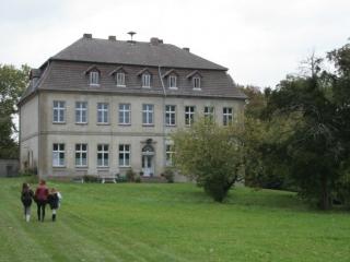Haus Gross Fredenwalde, waar Hertha's vader Hans von Arnim opgroeide