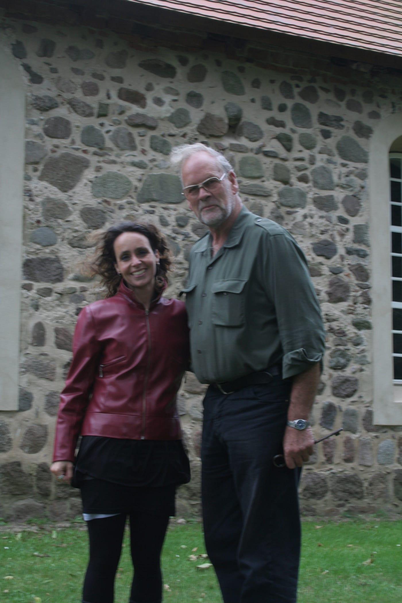 Met oud-neef Alard von Arnim