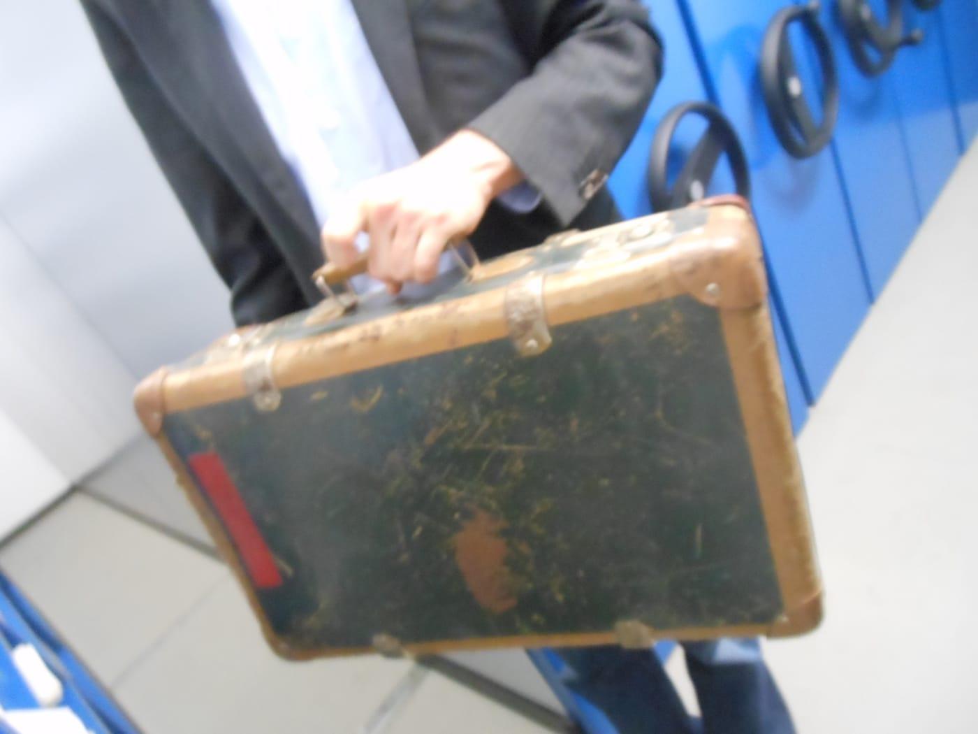 Koffer van Elfi, archieven Goethemuseum Frankfurt
