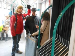 Met de Lenbach in de tram!