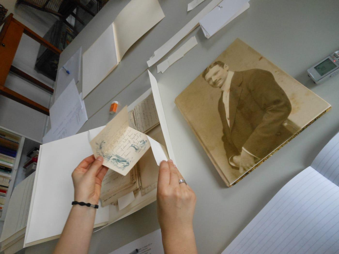 Onderzoek in Goethemuseum Frankfurt