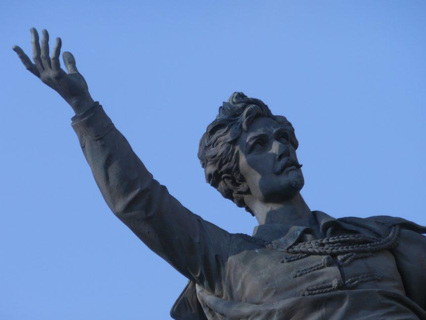 Sándor Petöfi, de beroemde dichter uit de 19e eeuw. Bettina vond hem geweldig en noemde hem de 'Zonnegod'.