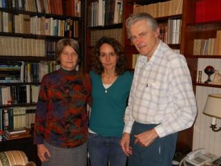 Zsuzsa Waigand en haar man Elek Verseghi Nagy, die als kind ook gedeporteerd was in Koloptanya. Elek had geen herinneringen aan Árpád, maar kon me nog veel vertellen over het leven in de goelag.