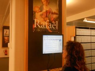 Olga bij RKD Den Haag