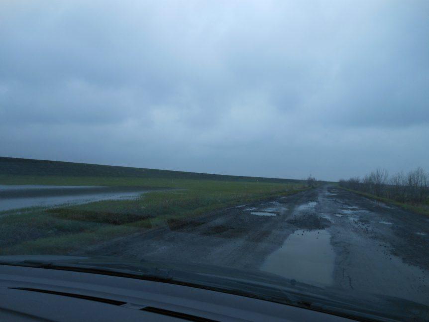 Met Bence op weg naar het verlaten Tiszasüly